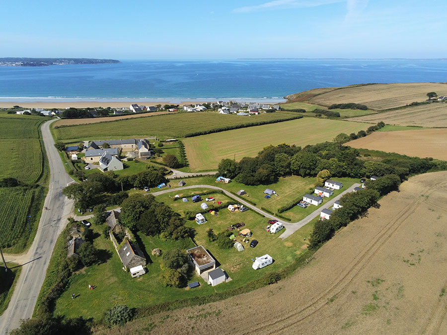 camping dys douarnenez finistere